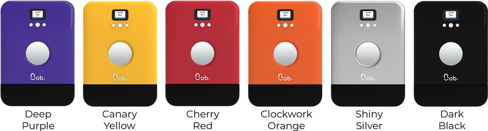 Bob countertop freestanding mini dishwasher colors purple yellow red orange silver black Daan Tech