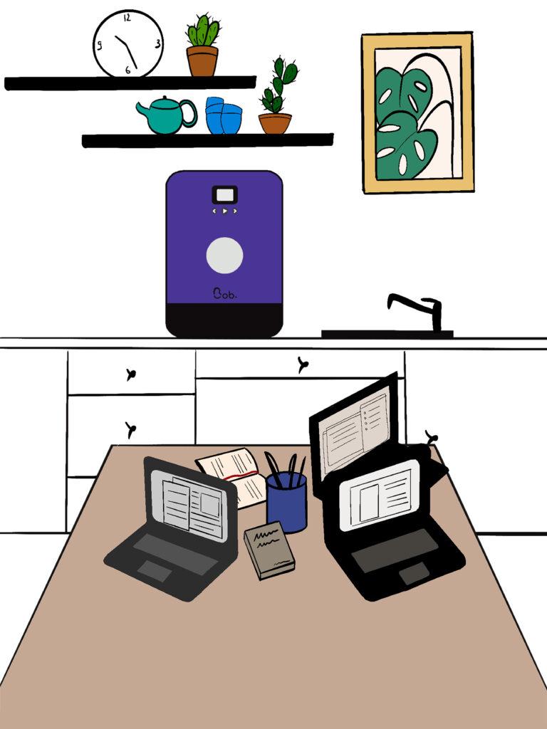 installation bob le mini lave vaisselle compact bureau
