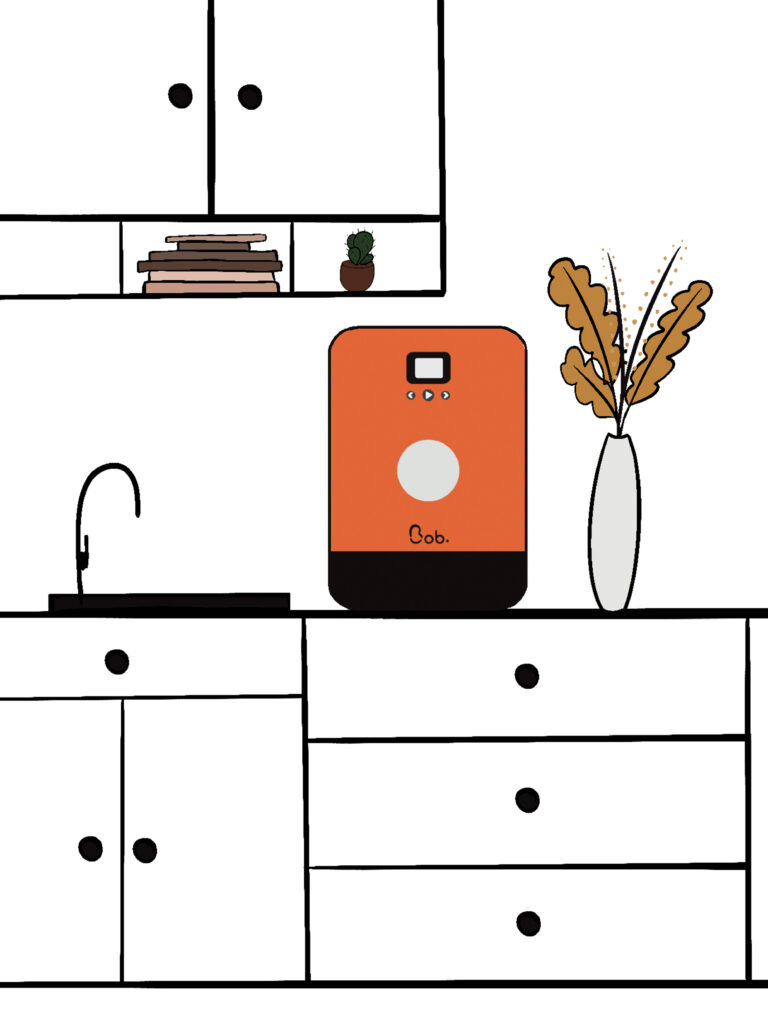 installation bob le mini lave vaisselle compact maison