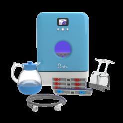 Bob mini lave vaisselle Made in France Daan Tech Premium Pack Edition Bleu vue face rendu 3D