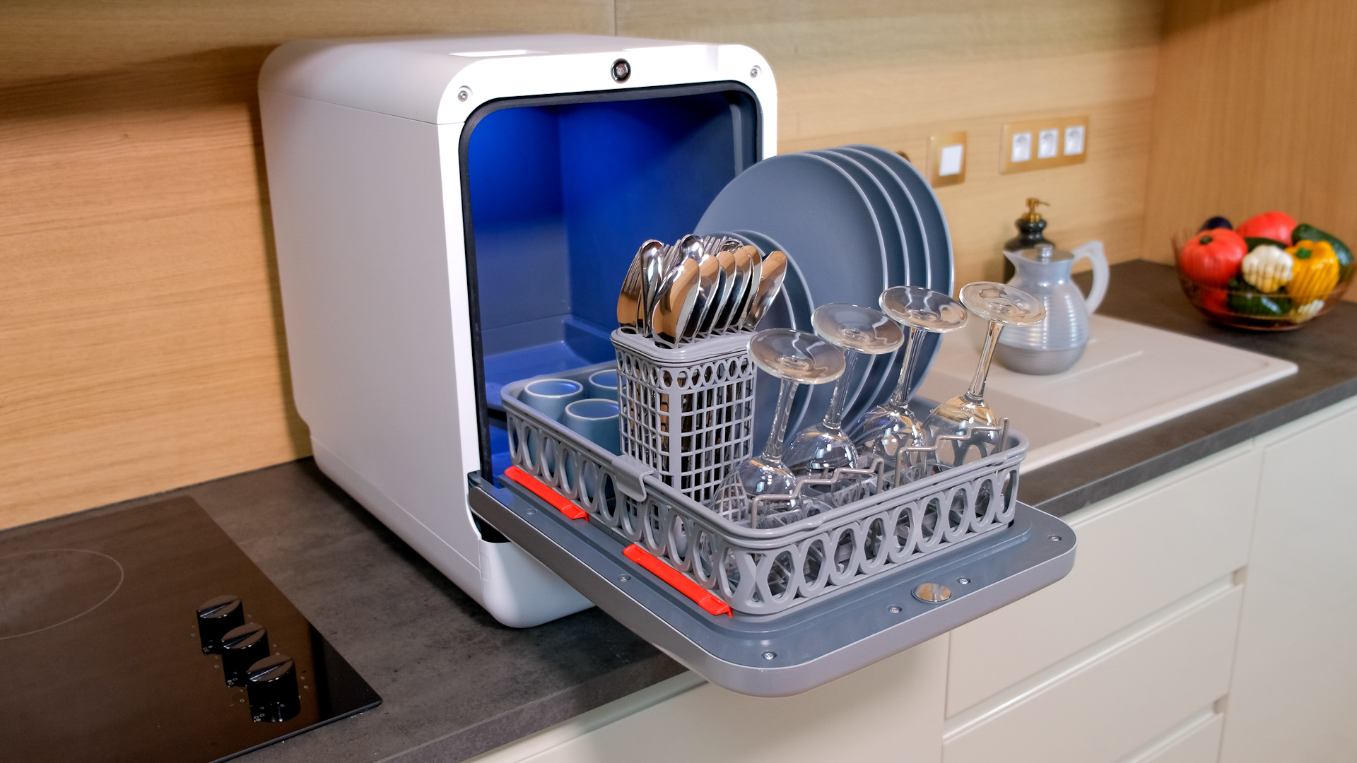 Photos avec dimensions Bob mini lave-vaisselle