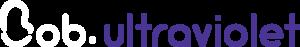 Bob ultraviolet logo white
