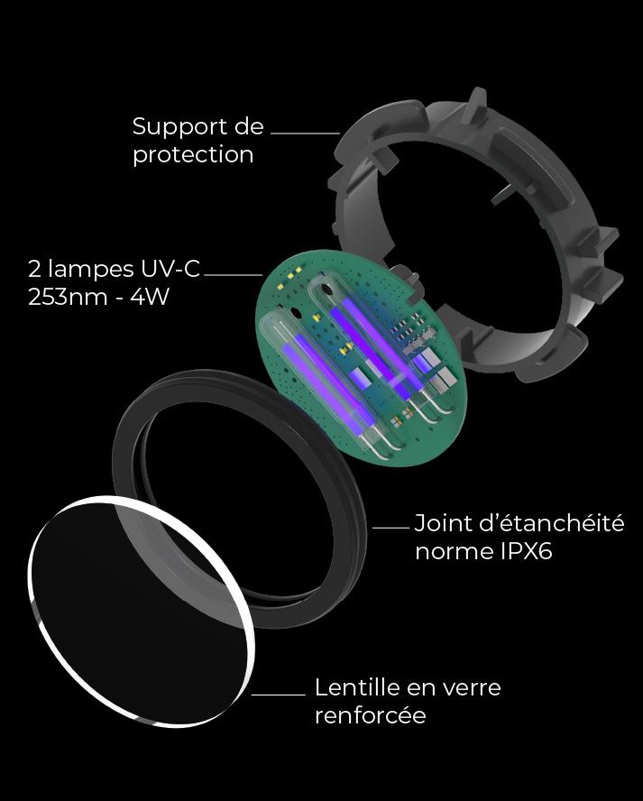 Module stérilisation UV Bob mini lave vaisselle