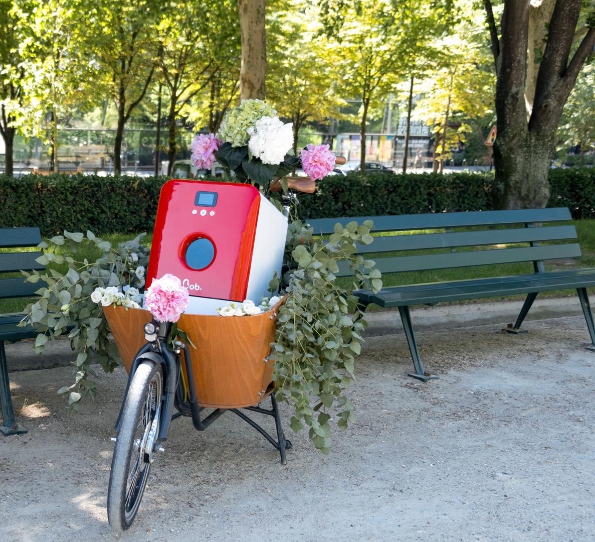 Bob Fahrrad Paris Park